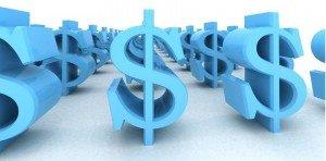 Money signs in ADT vs SimpliSafe comparison