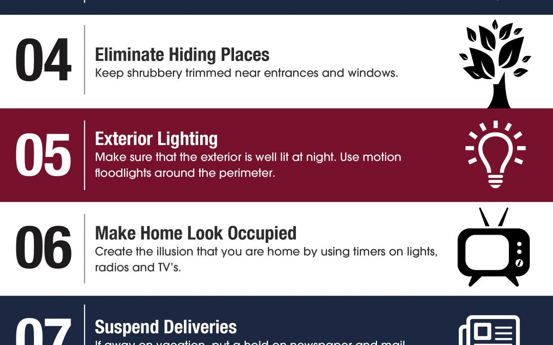 Top 10 Home Security Tips