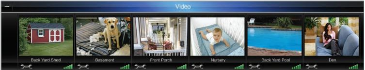 Wireless Home Security System Cameras