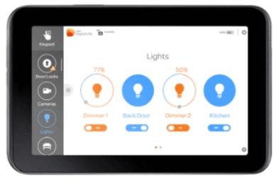 AT&T Digital Life Reviews of Touchscreen Kepyad