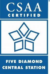 Five Diamon Certified-CSAA Logo