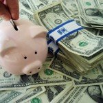 Economic benefist of installing a home security system-piggy bank