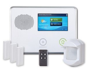 Best Apartment Security System for Renters- 2Gig Control Panel