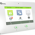 Frontpoint Home Security Reviews -Qolsys IQ Panel