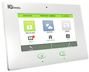 Frontpoint vs Simplisafe Review -Qolsys IQ Control Panel