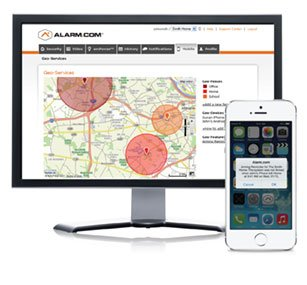 Alarm.com's Geo Services-The Next Generation of Home Automation