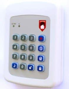 Alarmforce Security Reviews- Alarmforce Keypad