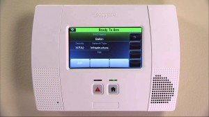 Bay Alarm Home Security Reviews- Honeywell Lynx 520