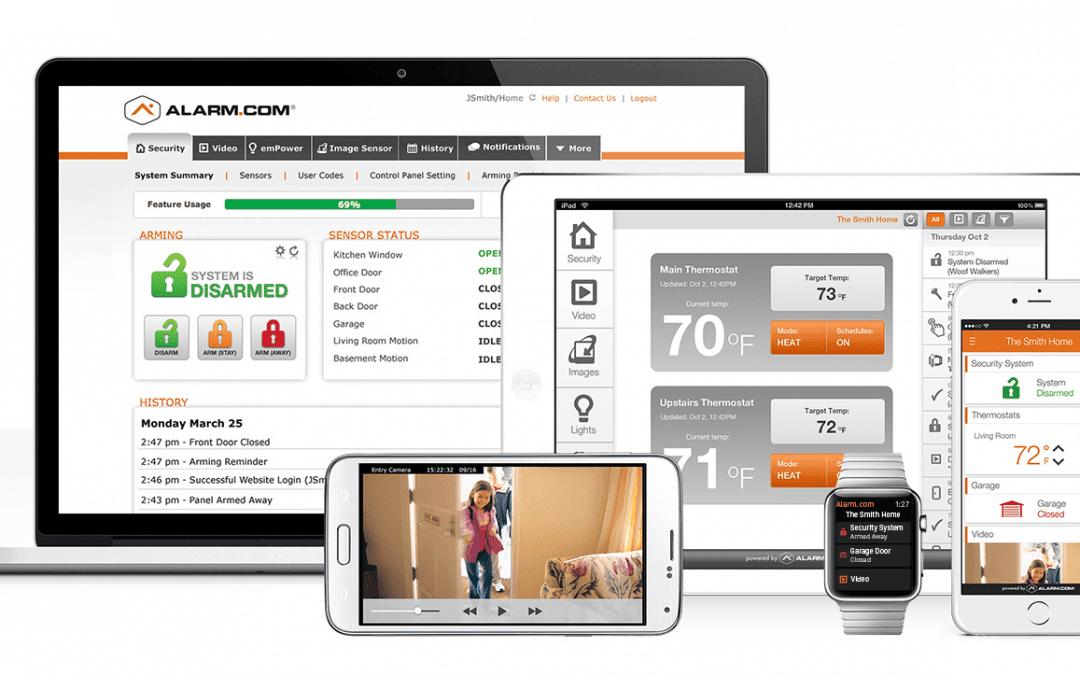 Alarm.com App – 2021 Alarm.com reviews of Camera and Mobile App