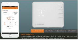 Alarm.com App -Energy Mangement