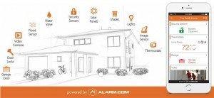 Alarm.Com Interactive App- Home Automation Services