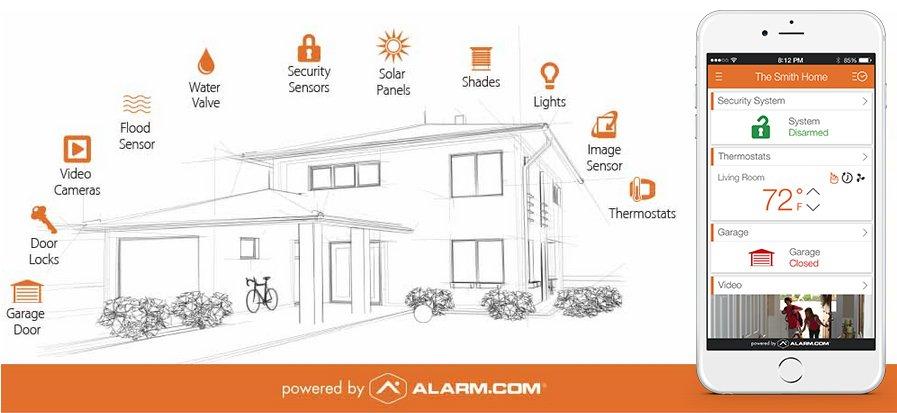 alarm com app 2018 alarm com reviews by the home security advisor