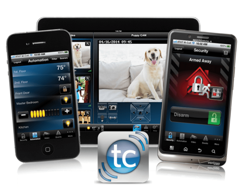 Total Connect 2.0 App for Windows, I-Phones and Android Devices