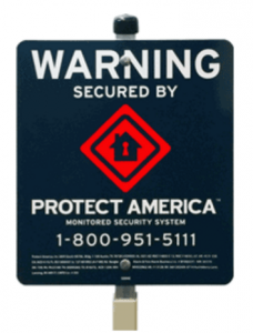 Home Security Systems- Yard Sign