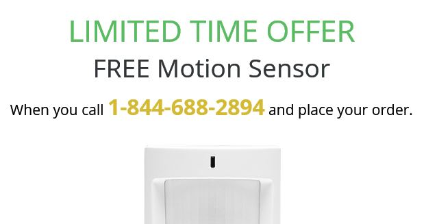 Frontpoint Security Reviews -Promo- Motion Detector