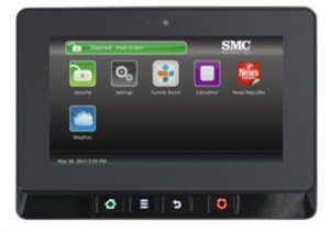 TWC Intelligent Home - SMC Security Equipment- Aegis Control Panel
