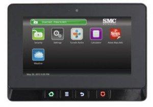 TWC Intelligent Home - SMC Security Equipment- Aegis Control Panel