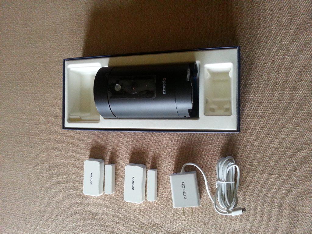 Zmodo Security Camera - Zmodo Pivot Contents