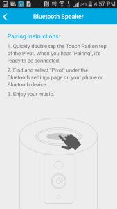 Zmodo Bluetooth Syncing