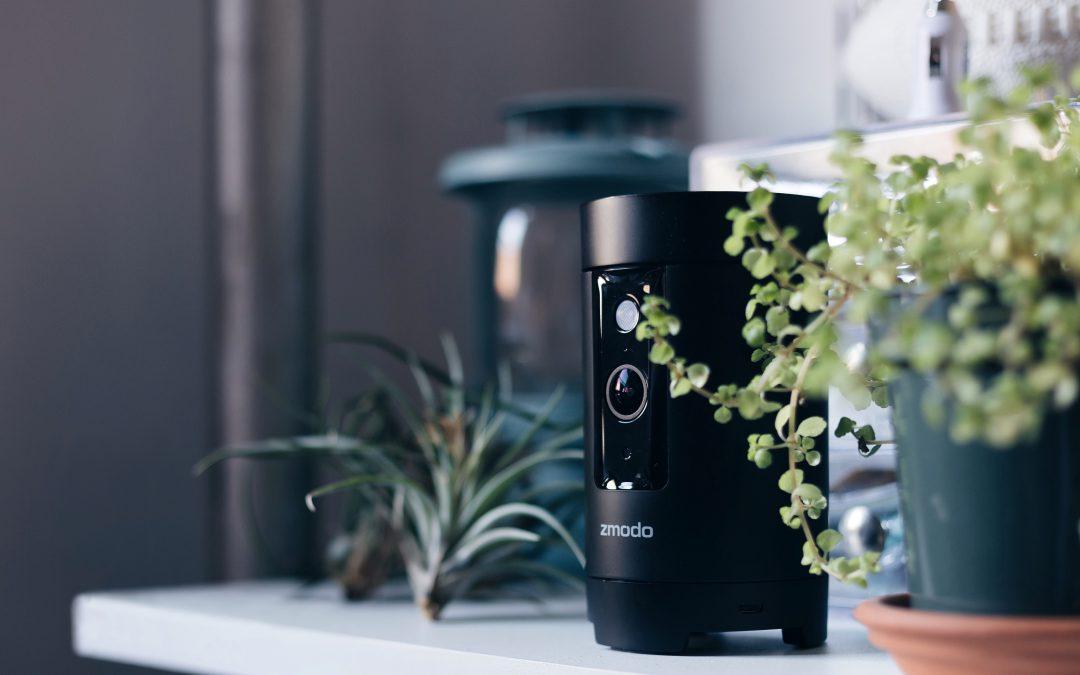 Zmodo Pivot – The Wireless Zmodo Camera that Scans the Room