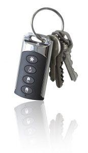 Frontpoint Alarm Keychain Remote