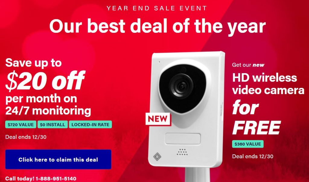 Protect America Year End Security Camera Sale