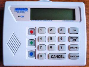 Brinks Keypad
