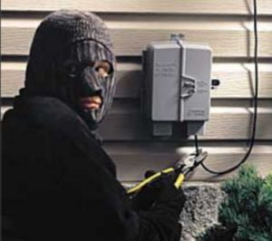 Brinks Home Security - Vulnerability -Line Cut