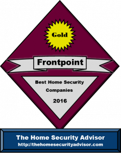 Best DIY Wireless Alarm Home Automation System - Frontpoint Security award