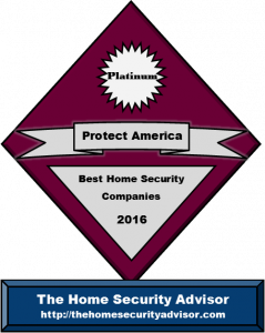Protect America Reviews- Platinum Award for Best Home Security Company