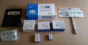 Link Interactive Home Security System - Contents