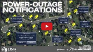 Power Outage Notifications by Alarm.com