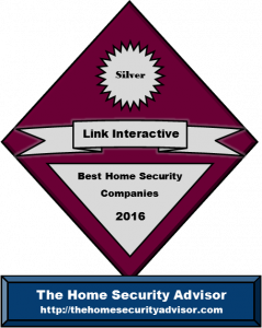 Award for Best DIY Wireless Home Alarm -Link Interactive