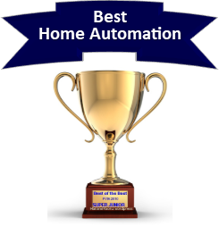 Vivint -Best Home Automation Trophy