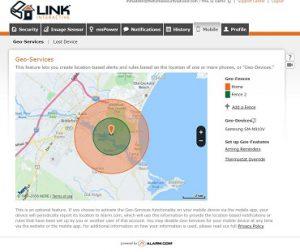 Link Interactive Security- Alarm.com's Geo-Fencing