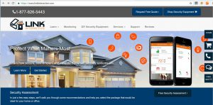 Link Interactive Home Page-Web Portal Log In