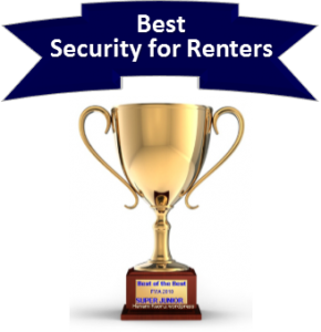 Best Security Company for Renters - Award