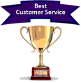 Award for home security company with best customer service