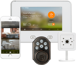 home security systems in Tacoma equipped with Home Automation