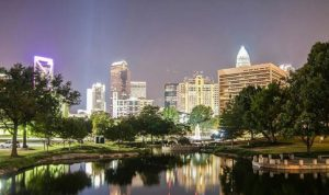 best security systems in Charlotte, NC - cityscape