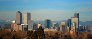 Best Security Systems in Denver -city skyline