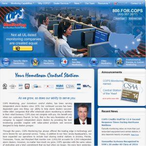 2017 Website screenshot