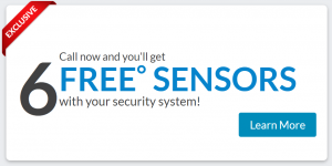 ADT Home Security - 6 Free Sensors Offer