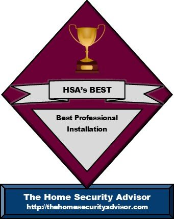 Best Home Security Companies for Professional Installation Trophy