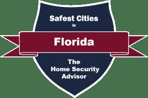 Safest Cities in Florida Badge