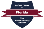 Safest Cities in Florida Badge