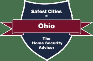 Safest Cities in Ohio-Full Size Badge