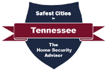 Safest Cities in Tennessee - Badge