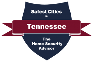 Safest Cities in Tennessee badge