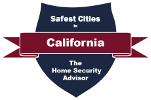 Safest Cities in California Badge - 151x100
